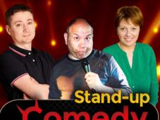 Stand-up Comedy cu  Fulvio Balboni, Cristina Patrascu si Cristian Manolescu