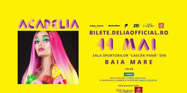 Baia Mare: Concert Acadelia -Sala Sporturilor