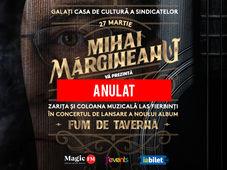 """Galati: Lansare album Mihai Margineanu - """"Fum de Taverna"""""""