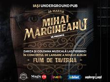 """Iasi: Lansare album Mihai Margineanu - """"Fum de Taverna"""""""