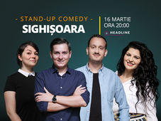 Sighișoara: Stand-up comedy cu Tănase, Mane, Ioana și Luiza