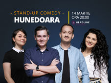 Hunedoara: Stand-up comedy cu Tănase, Mane, Ioana și Luiza
