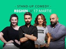 Reghin: Stand-up comedy cu Bucălae, Calița, Teodora & Toni