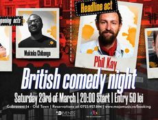 British comedy night | w/ Phil Kay