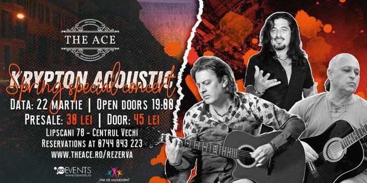 Krypton acoustic live @The Ace