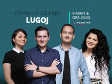 Lugoj: Stand-up comedy cu Tănase, Mane, Ioana și Luiza