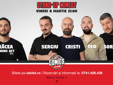 Stand Up Comedy cu Sorin, Sergiu, Cristi & Teo