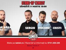 Stand Up Comedy cu Sergiu, Cristi, Mocanu & Mincu
