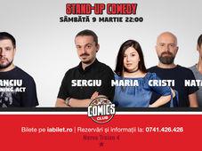 Stand Up Comedy cu Sergiu, Cristi, Maria & Natanticu