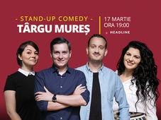 Târgu Mureș: Stand-up comedy cu Tănase, Mane, Ioana și Luiza
