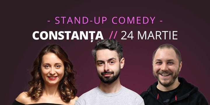 Constanța: Stand-up comedy cu Bucălae, Calița & Bogdan Malaele