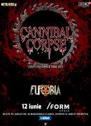 Cluj-Napoca: Cannibal Corpse la /FORM Space