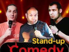 Stand-up Comedy cu Fulvio Balboni, Andrei Gadalean si Lalau Bre