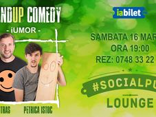 BRASOV: StandUp Comedy - Bobi Dumitras & Petrica Istoc
