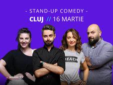 Cluj-Napoca: Stand-up comedy cu Bucălae, Calița, Teodora & Toni