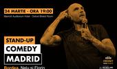 Madrid: Stand-up comedy cu Bordea, Nelu și Florin