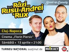Cluj-Napoca: Stand-up Comedy - Râzi cu Rusu și Andrei & Rux