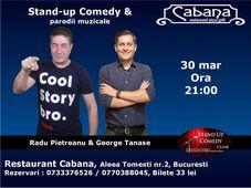 Stand-up Comedy si parodii muzicale cu Radu Pietreanu & George Tanase