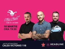 The Fool: Stand-up comedy cu Bordea, Cortea si Sergiu