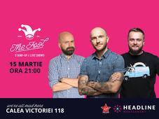 The Fool: Stand-up comedy cu Bordea, Cortea si Cristi Popesco