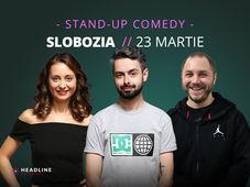 Slobozia: Stand-up comedy cu Bucălae, Calița & Bogdan Mălăele
