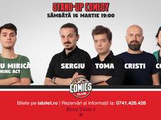 Stand Up Comedy cu Costel, Sergiu, Toma & Cristi