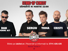 Stand Up Comedy cu Vio, Sergiu, Toma & Cristi