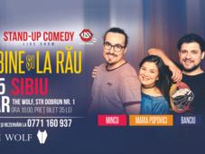Sibiu: La bine si la rau cu Banciu, Maria Popovici si Mincu