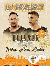 DJ Project // Inimă nebună // LIVE w. Mira, Ami, Giulia