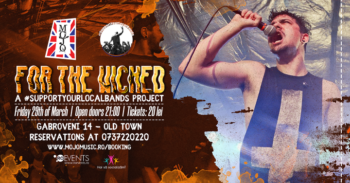 For the Wicked | Supportyourlocalbands