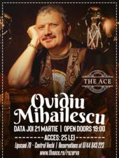 Ovidiu Mihăilescu   Concert de folkist @The Ace