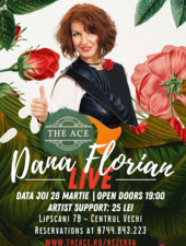 Dana Florian live @The Ace