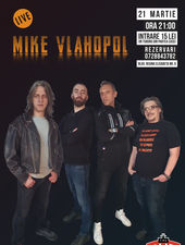 Mike Vlahopol Live la The PUB