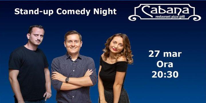 Stand-up Comedy cu George Tanase, Mane Voicu & Ana Maria Calita