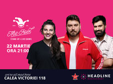 The Fool: Stand-up comedy cu Micutzu, Geo și Teodora