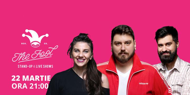 The Fool: Stand-up comedy cu Micutzu, Geo și Teodora