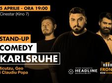 Karlsruhe: Stand-up comedy cu Micutzu, Geo și Claudiu Popa