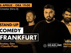 Frankfurt: Stand-up comedy cu Micutzu, Geo și Claudiu Popa