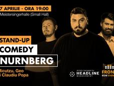 Nurnberg: Stand-up comedy cu Micutzu, Geo și Claudiu Popa
