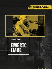 Emeric Imre la SubForm - Cluj