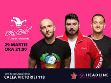 The Fool: Stand-up comedy cu Bordea, Micutzu și Mane Voicu
