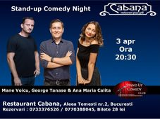 Stand-up Comedy cu George Tanase, Mane Voicu & Ana Maria Calita
