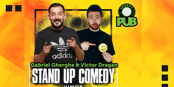 Stand Up Comedy iUmor cu Gabriel Gherghe si Victor Dragan