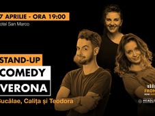 Verona: Stand-up comedy cu Bucălae, Calița și Teodora
