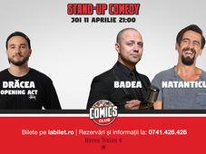 Stand cu Badea, Natanticu & Dracea la Comics Club