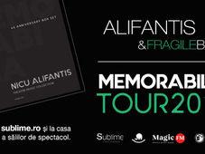 Targu Mures: Alifantis & FragileBand - Turneul Memorabilia