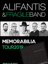 Brasov: Alifantis & FragileBand - Turneul Memorabilia