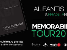 Timisoara: Alifantis & Fragile Band - Turneul Memorabilia