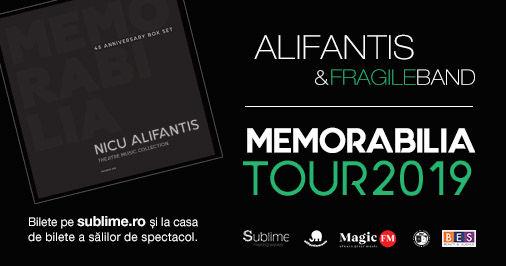 Suceava: Alifantis & FragileBand - Turneul Memorabilia