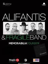 Cluj-Napoca: Alifantis & FragileBand - Turneul Memorabilia